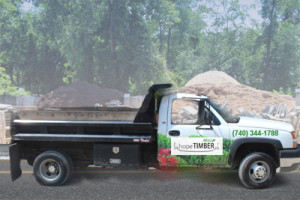 Hope Timber Mulch Delivery Truck
